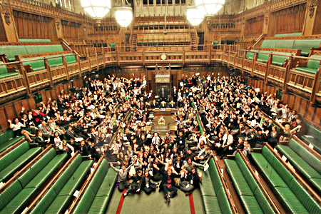 youth parliament; PA copyright
