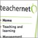 Closeup of Teachernet website