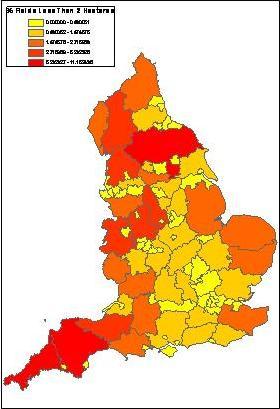 Defra UK About Defra Geographical Information - Land height
