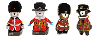 London 2012 special edition mascots