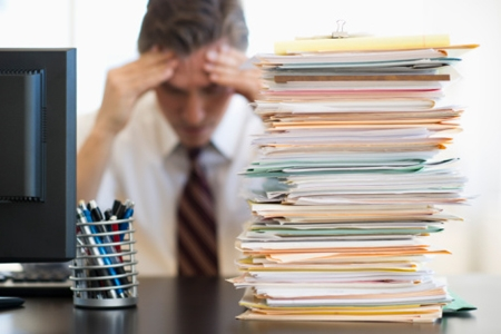 files and paperwork; Getty images