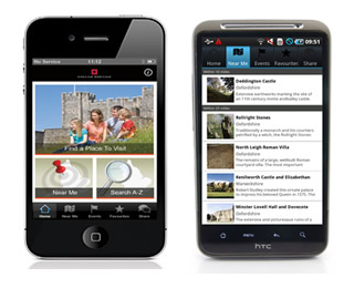 Days Out phone app