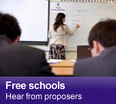 Free schools - Hear from proposers