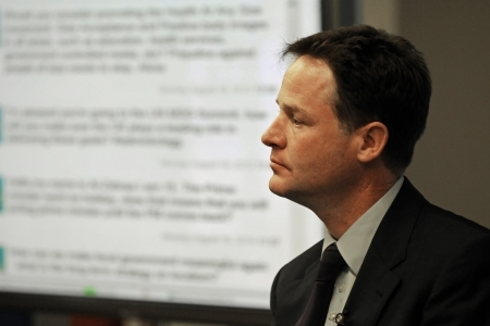 Nick Clegg; Crown copyright