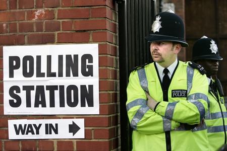 Polling station, PA copyright