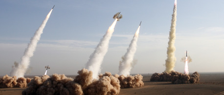 Missiles in Iran, AFP/Getty Images