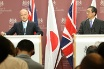 Foreign Secretary William Hague with Japanese Minister for Foreign Affairs Takeaki Matsumoto