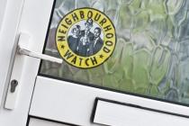 Neighbourhood watch sticker