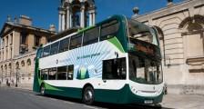 Environmentally friendly double decker hybrid Oxford