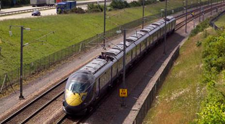 High speed rail train