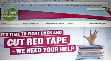 Red Tape Challenge website