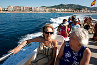 British pensioners in Lloret de Mar, Spain. Photo by Cate Gillon/Getty Images.
