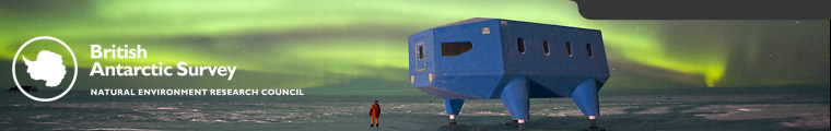 Living and Working - Aurora Australis above Halley VI module