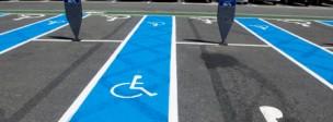 Access roads parking