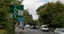 Dorset traffic pedestrians signs
