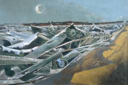 Paul Nash, Totes Meer (Dead Sea), 1940-1