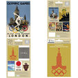Olympic Museum postcard collection set of 10