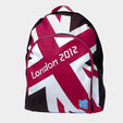 London 2012 Union Flag pink backpack