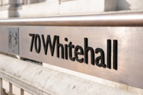 Whitehall sign; Crown copyright