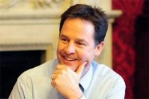 Deputy PM Nick Clegg; Crown copyright