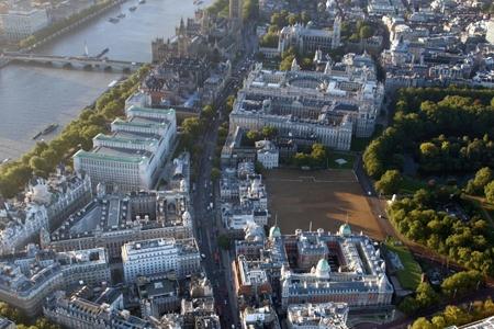 aerial shot of whitehall