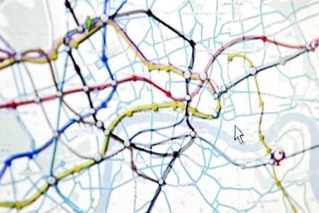 Crime data map