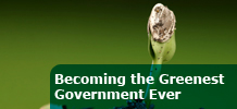 Becoming the Greenest Government Ever