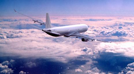 Airborne plane