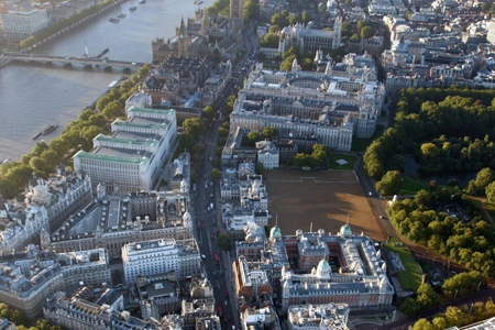 Whitehall aerial view