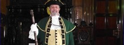 Town Crier Terry Stubbings