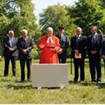 Bomber Command Memorial foundation stone laid