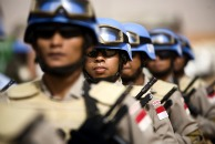UNAMID celebrates International Day of Peacekeepers, credit Getty Images