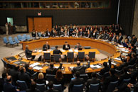 The United Nations Security Council Session