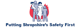 Putting Shropshire's Safety First logo