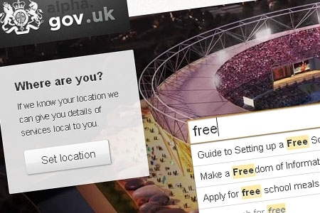 The Alpha.gov website