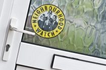 Neighbourhood watch sticker