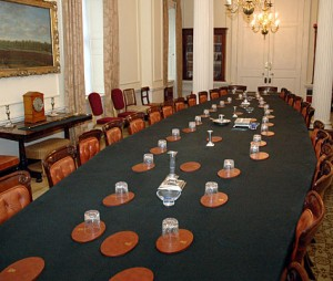 Cabinet room; Crown copyright
