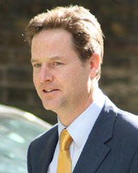 Deputy Prime Minister Nick Clegg; Crown copyright