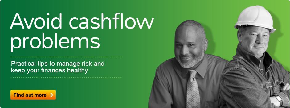 Avoid cashflow problems