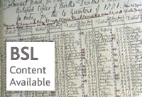 Civil registration and beyond - BSL content available