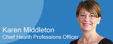 Karen Middleton, Chief Health Professions Officer
