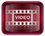 video film strip logo