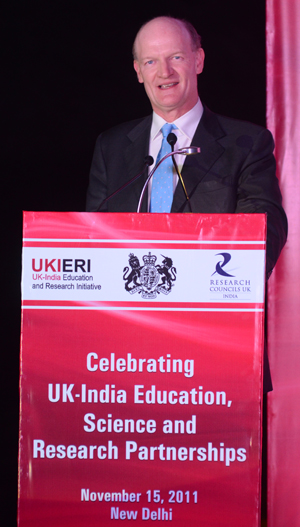 David Willetts. Credit: RCUK India