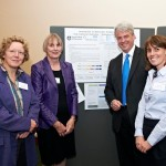 Members of the stroke group of winners with Andrew Lansley