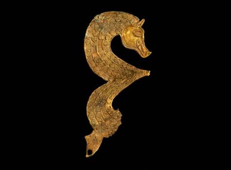 Stylised seahorse