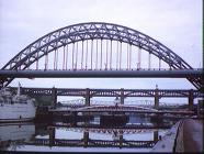 Bridges across the River Tyne-1986