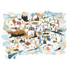 A1 London map 2012 - limited edition print