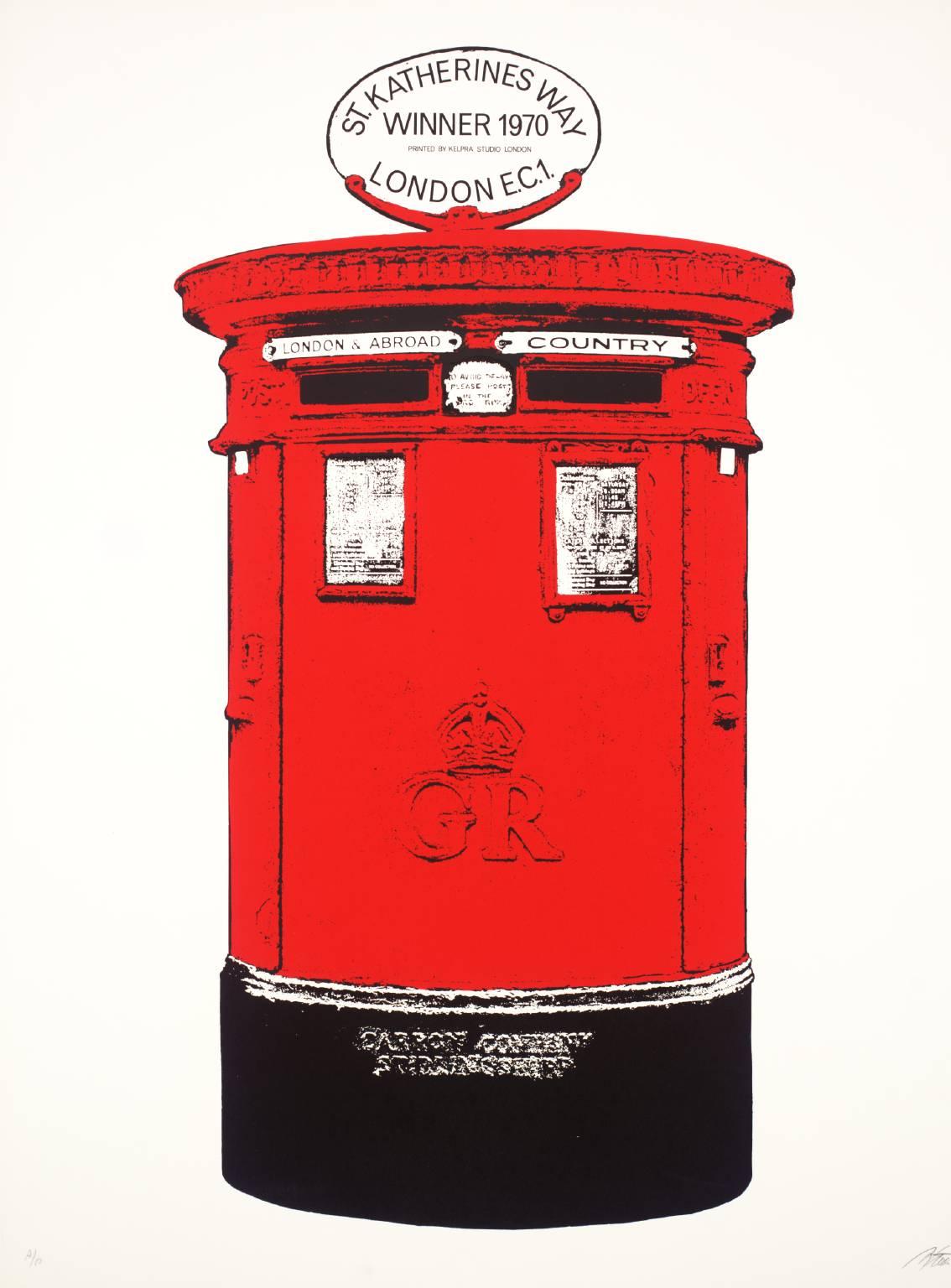 Gerd Winner  born 1936, From London Docks: St Katharine's Way