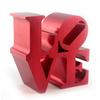 Red Love sculpture
