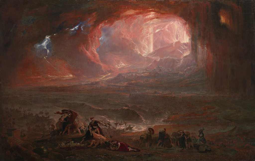 John Martin, The Destruction of Pompeii and Herculaneum.